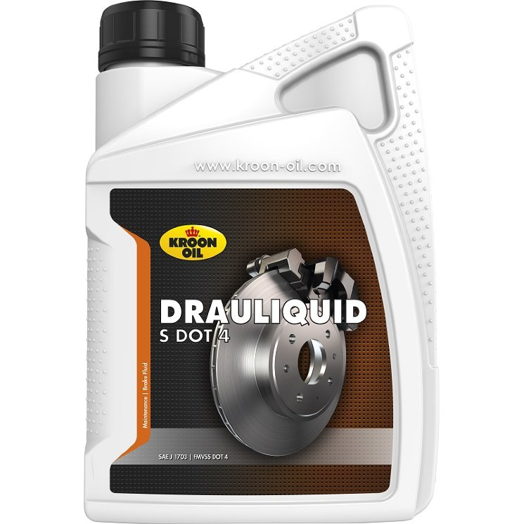 12 L bottle Kroon-Oil Drauliquid-s DOT 4