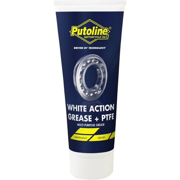 Putoline White Action Grease + PTFE 12x100г