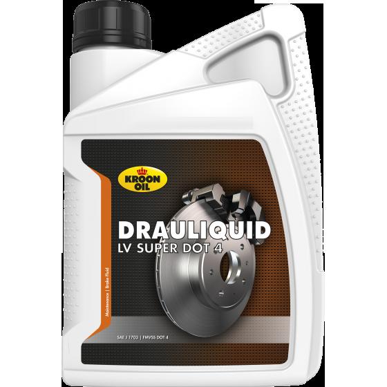 1 L bottle Kroon-Oil Drauliquid-LV DOT 4