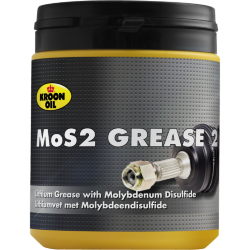 600 gr tub Kroon-Oil MOS2 Grease EP 2