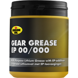 600 g pot Kroon-Oil Gear Grease EP 00/000